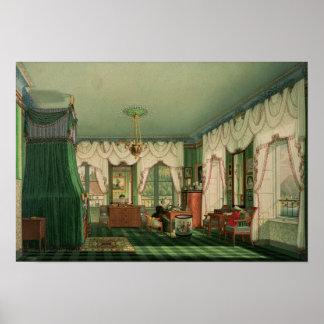 ババリアのエリザベスの寝室 ポスター