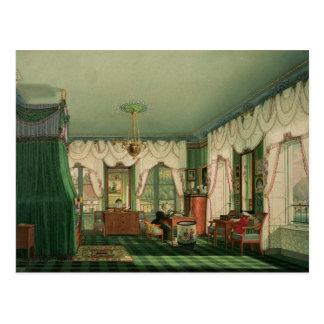 ババリアのエリザベスの寝室 ポストカード