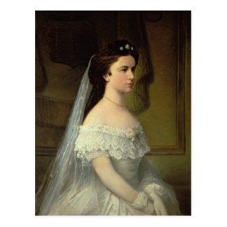 ババリアのエリザベス、オーストリアの皇后 ポストカード