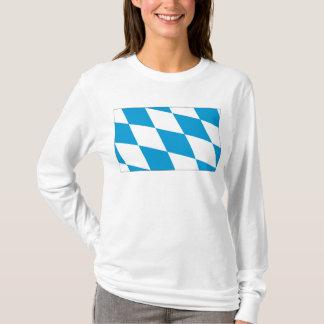 ババリアの旗のバイエルンの旗のTシャツ Tシャツ