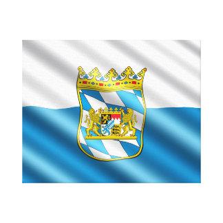 ババリアの旗 キャンバスプリント