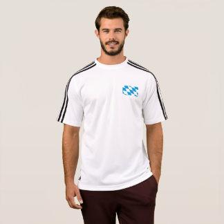 ババリアのTシャツのメンズ旗 Tシャツ