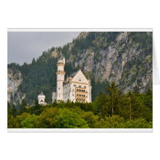 ババリアドイツのノイシュヴァンシュタイン城の城 カード