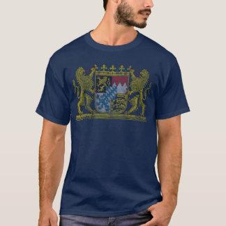 ババリアドイツヴィンテージの紋章付き外衣 Tシャツ