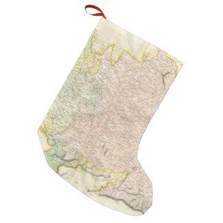 ババリアドイツ(1814年)のヴィンテージの地図 スモールクリスマスストッキング