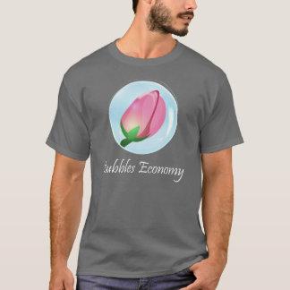 バブル経済の株式市場のTシャツ Tシャツ