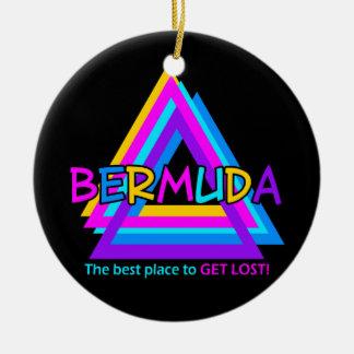 バミューダ島の三角形のオーナメント-カスタマイズ セラミックオーナメント