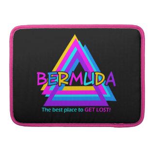 バミューダ島の三角形のカスタムなiPad/ラップトップスリーブ MacBook Proスリーブ