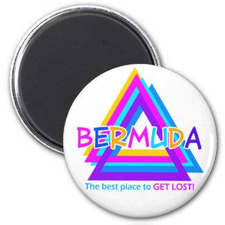 バミューダ島の三角形の磁石 マグネット