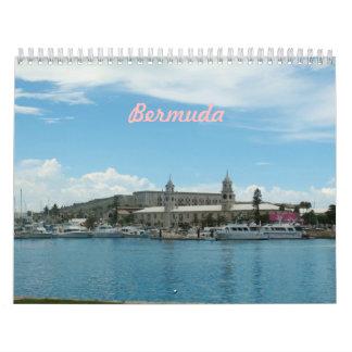 バミューダ島の写真のカレンダー カレンダー