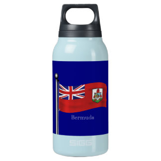 バミューダ島の振る旗 断熱ウォーターボトル