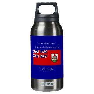バミューダ島の旗およびモットー 断熱ウォーターボトル