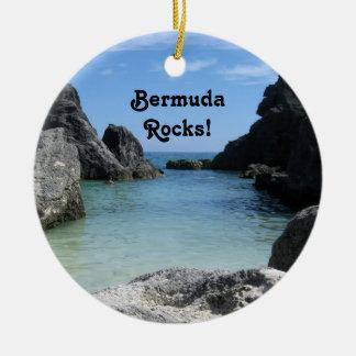 バミューダ島の石! セラミックオーナメント