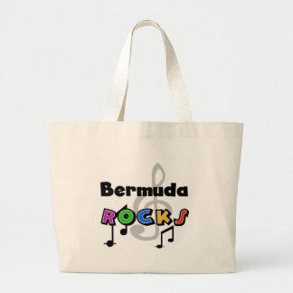 バミューダ島の石 ラージトートバッグ