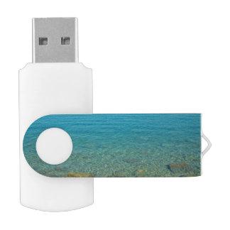 バミューダ島の青緑水 USBフラッシュドライブ