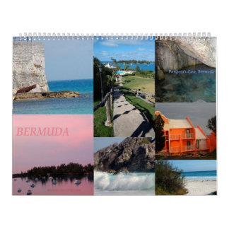 バミューダ島の12か月のカレンダー カレンダー