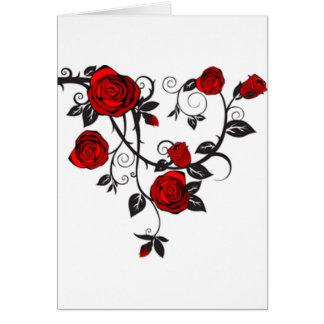 バラおよびつる植物 カード