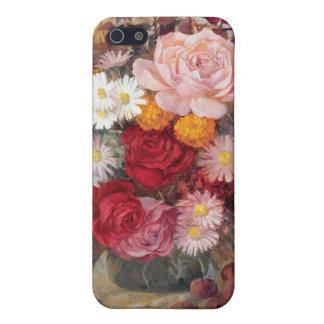 バラおよびデイジーiPhone4の場合 iPhone 5 Case