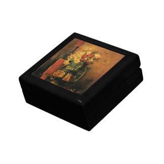 バラおよびワインを持つゴッホのロマンチックなファインアート ギフトボックス