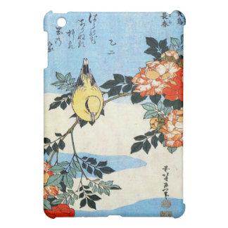バラおよび鳥、Hokusai iPad Mini カバー