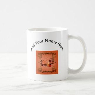 バラが付いている素晴らしいeiffeltower コーヒーマグカップ
