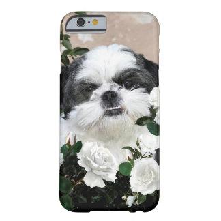 バラとのシーズー(犬) Tzu Barely There iPhone 6 ケース