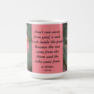 バラのつぼみは…遠くにに広がっていません コーヒーマグカップ