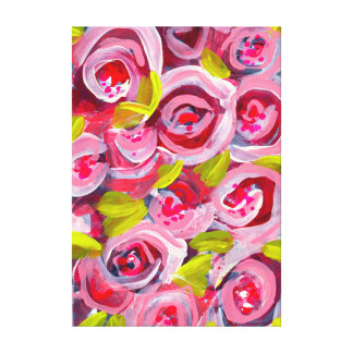 バラのバラのバラ キャンバスプリント