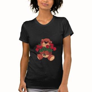 バラの十分の腕 シャツ