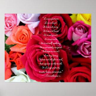 バラの結婚を想像して下さい ポスター
