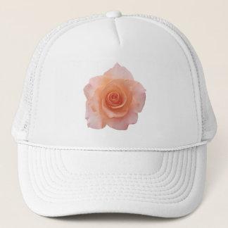 バラの花だけ + あなたの文字及びアイディア キャップ