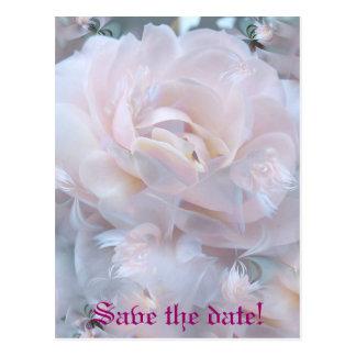 バラの花びら ポストカード