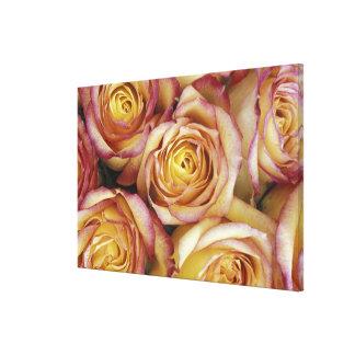 バラの花束 キャンバスプリント