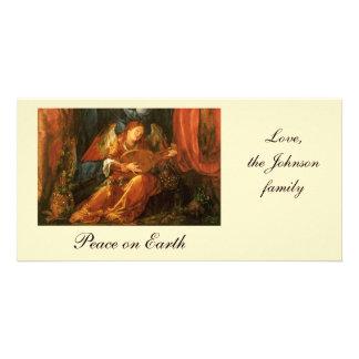 バラの花輪の饗宴、天使アルブレヒトDurer カード