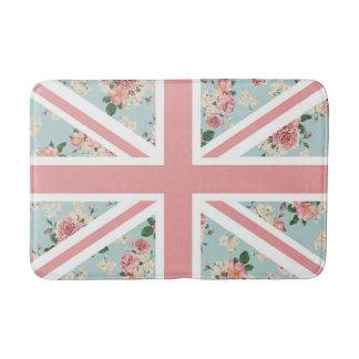バラの英国国旗の英国の旗 バスマット