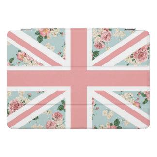バラの英国国旗の英国の旗 iPad PROカバー