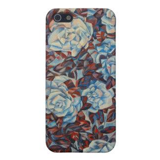 バラのSpeckの青い箱 iPhone 5 Case