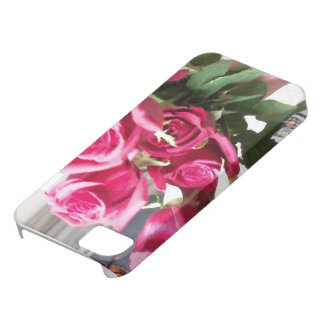 バラは赤いiPhone 5/5Sのプラスチックケースです iPhone SE/5/5s ケース