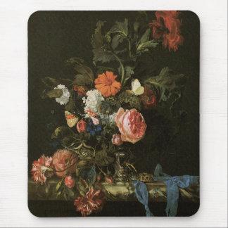 バラを持つ花のファインアート マウスパッド