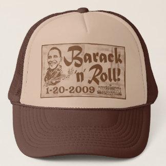 バラクは2009年の就任式の帽子を転がり、 キャップ