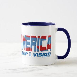 バラクアメリカのリーダーシップのギア マグカップ