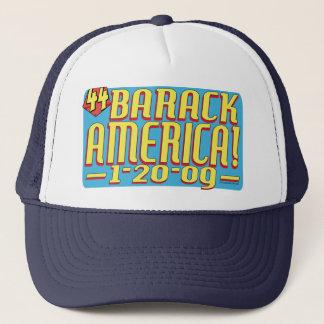 バラクアメリカ2009の政治英雄のギア キャップ