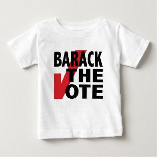 バラク投票 ベビーTシャツ