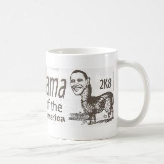 バラクO'Llama 2008年 コーヒーマグカップ