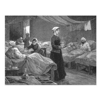 バラックの病院の失敗のナイチンゲール ポストカード