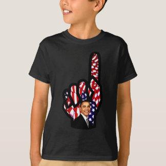 バラック・オバマのための投票は2012年、Obama_を再選します Tシャツ