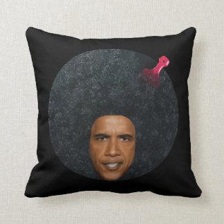 バラック・オバマのアフリカのポートレートのステンシル クッション