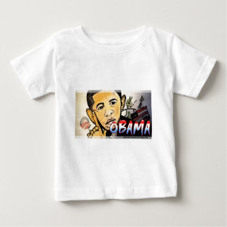 バラック・オバマのデザイン ベビーTシャツ
