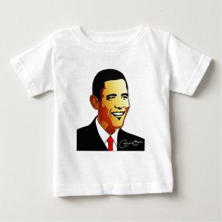 バラック・オバマのベクトルイラストレーション ベビーTシャツ