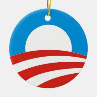 バラック・オバマの大統領米国のロゴの選挙2012年 セラミックオーナメント